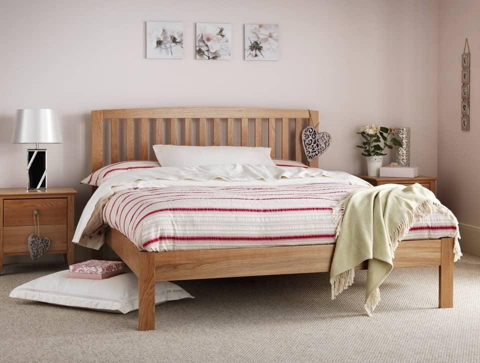 Serene Thornton Oak Bed Frame