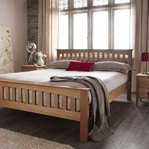 Serene Windsor Oak Bed Frame