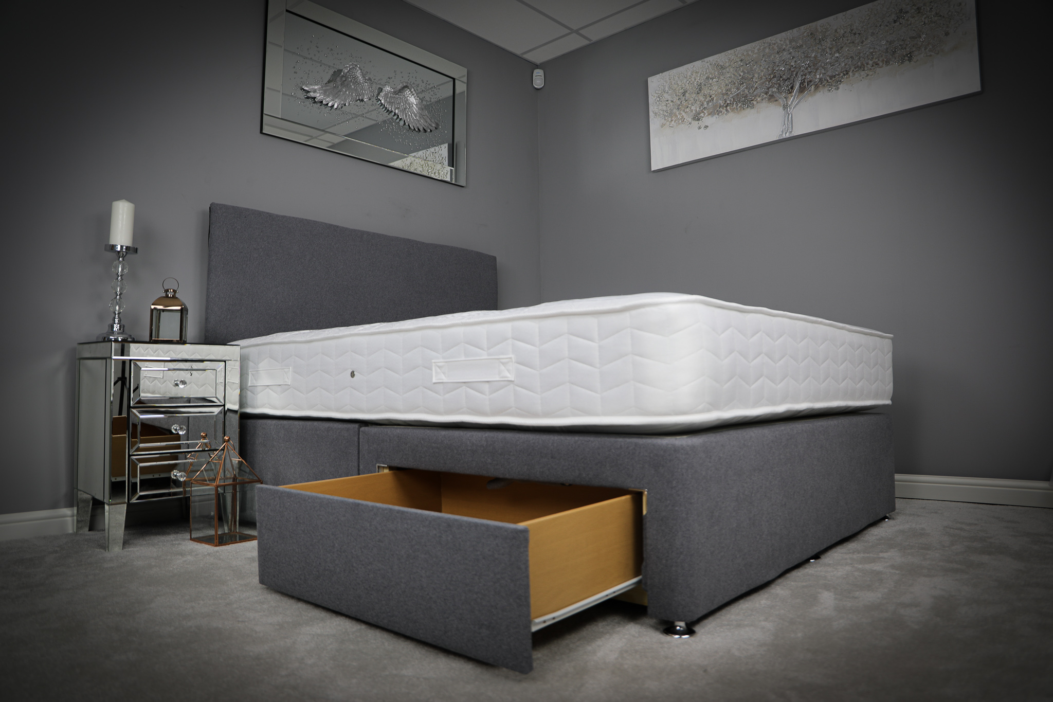 Sognatori Ortho Comodita Divan With Drawers & Headboard