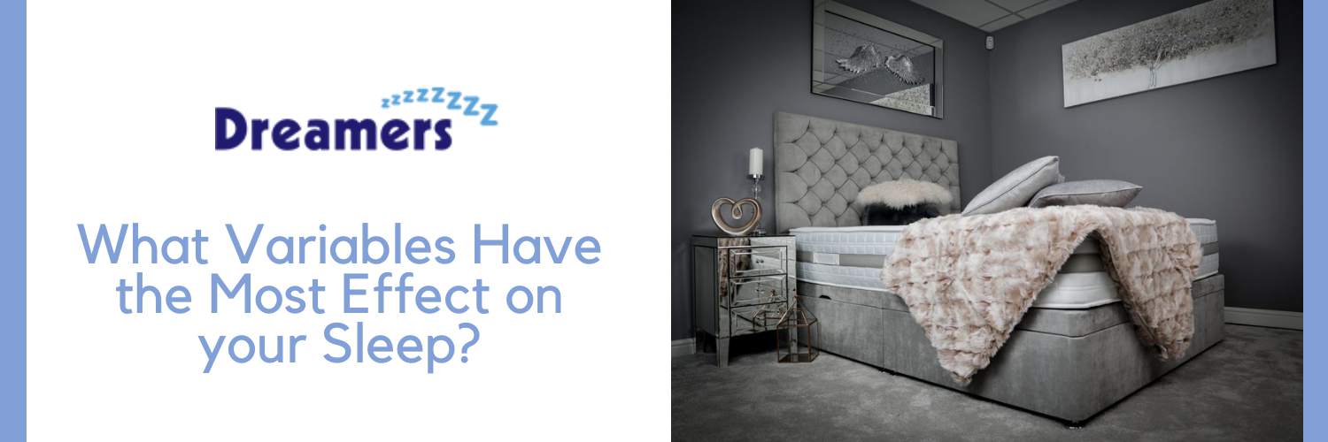 What Variables Have the Most Effect on your Sleep?