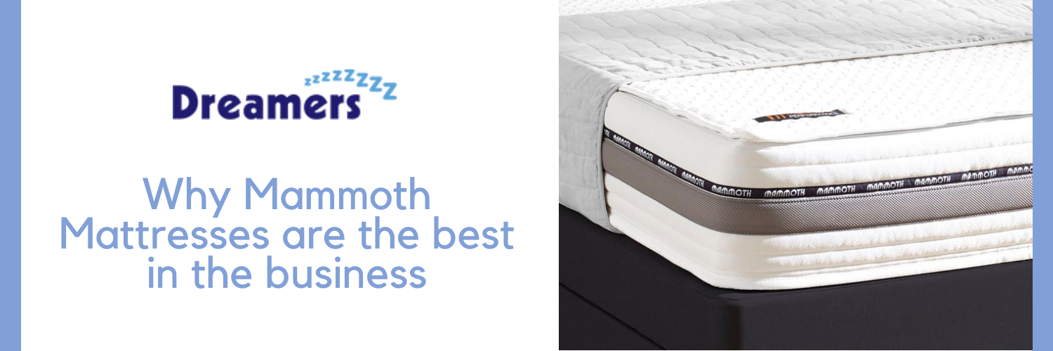 Why Mammoth Mattresses are the best in the business