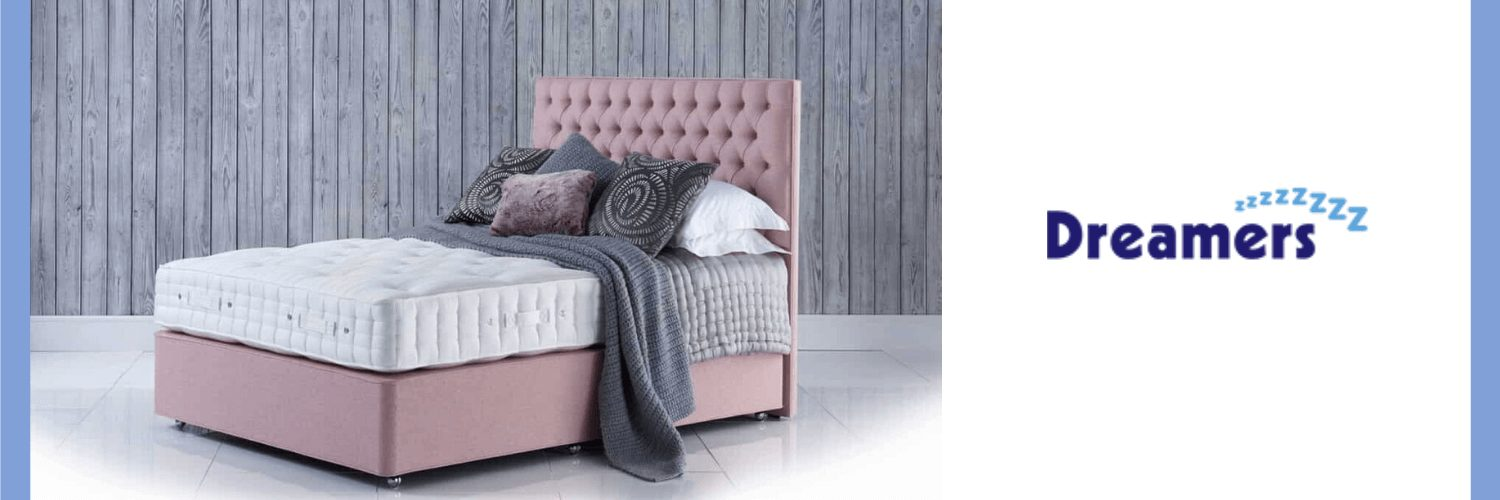 Example of a pink double divan