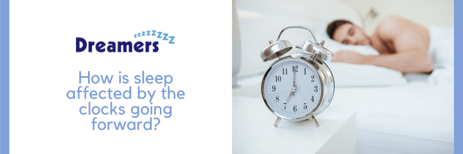 Man's sleep being affected by daylight saving