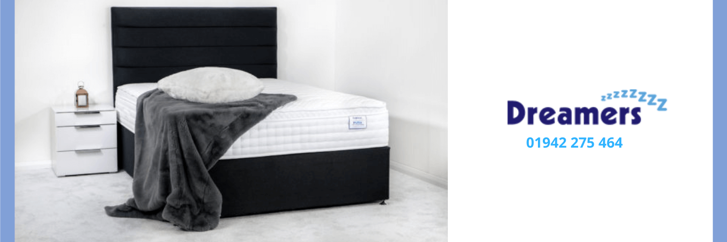 Example of bed available at Dreamers Bed Centre