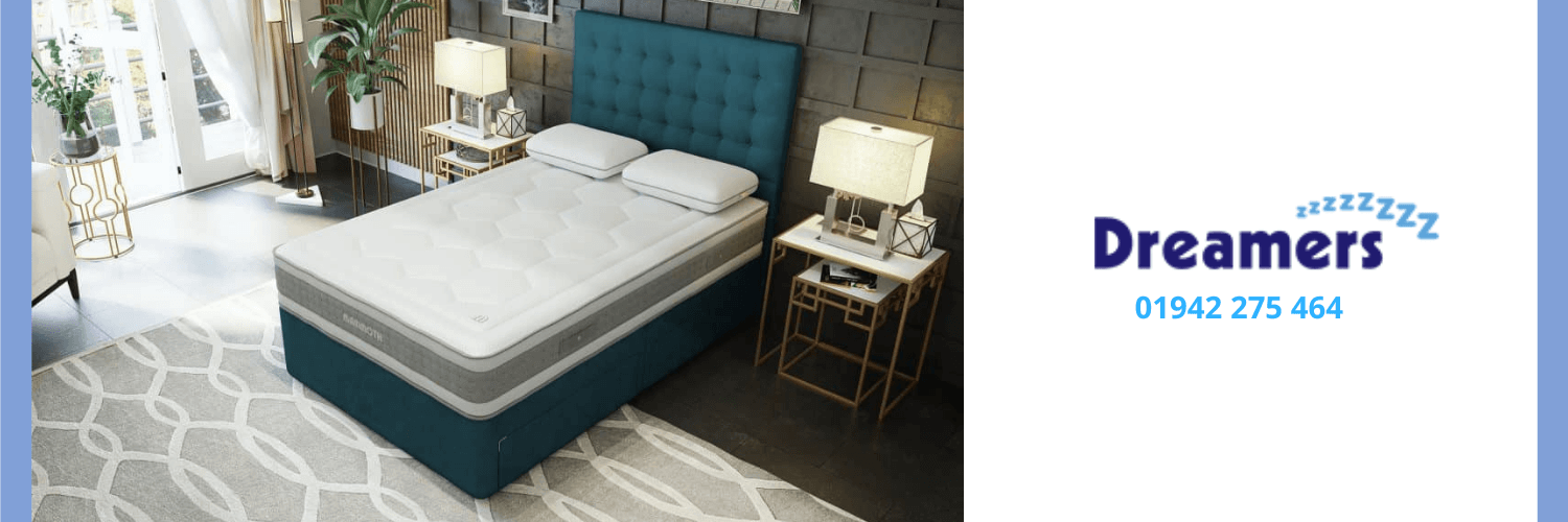 Ideal summer bed available at Dreamers Bed Centre