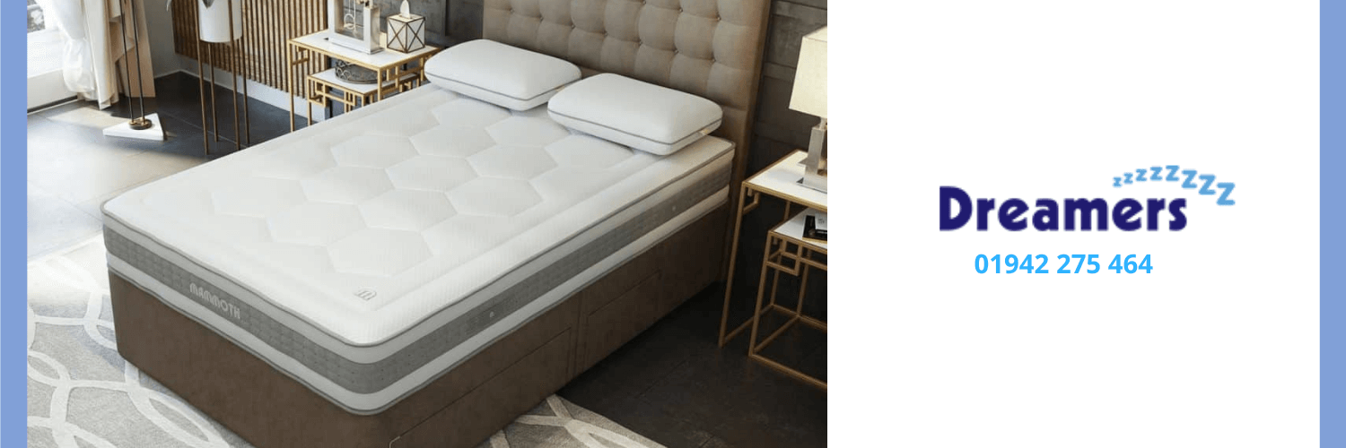 Example of mattress available at Dreamers