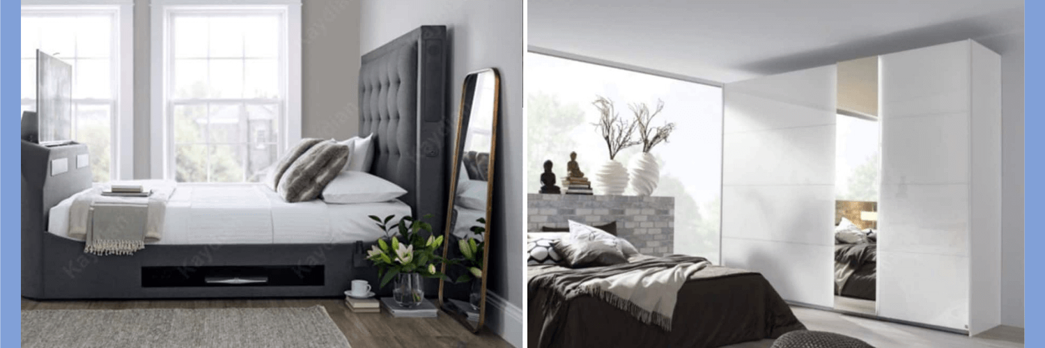 Furniture that will make a small bedroom look bigger