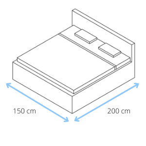 How to measure for a new bed step 1