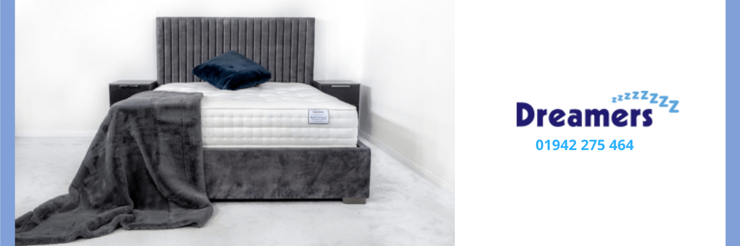 Bed available at Dreamers Bed Centre